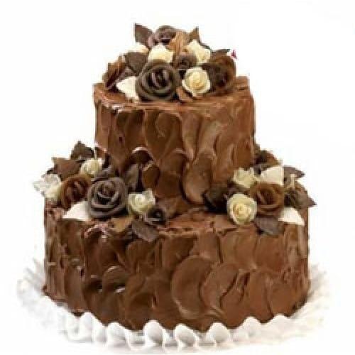 3 Kg Chocolate Truffle Eggless Cake Dpsainiflorist