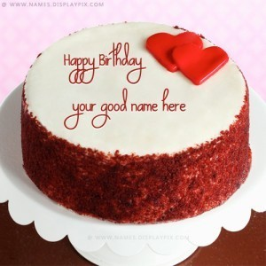 Happy Birthday Cake With Name For Facebook