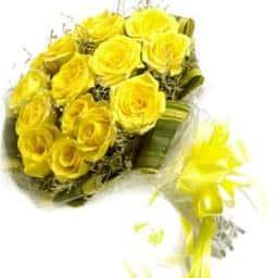Buy yellow flowers send yellow roses and lilies buy yellow gerberas yellow bunch mightylinksfo