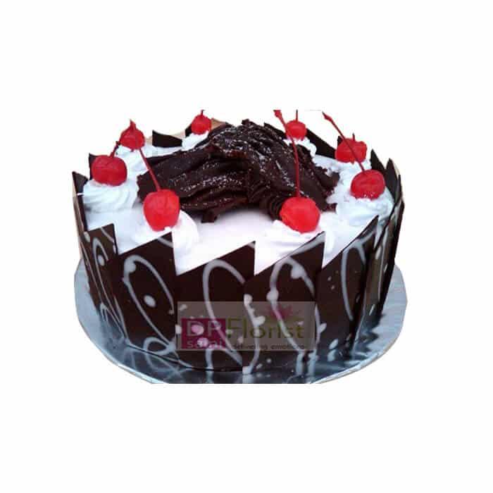 Orange And Dark Chocolate Cake Sweets
