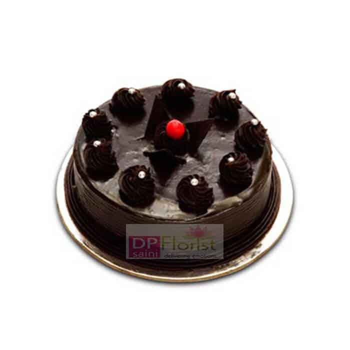 Half Kg Chocolate Truffle Cake - Dpsainiflorist