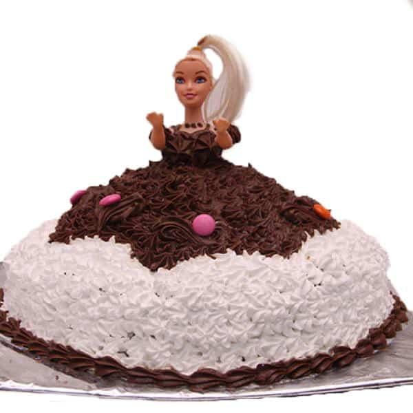 2 Kg Barbie Dol Cake