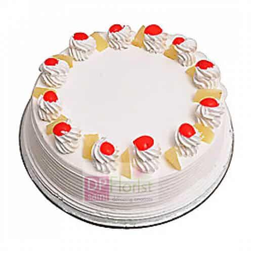 1 Kg Fresh Pineapple Cake