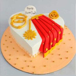 Karvachauth-Cake